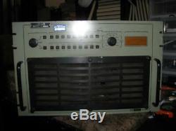 ITT Mackay HF Power Amplifier / Amp Model MSR-1020 As Is, Read Details