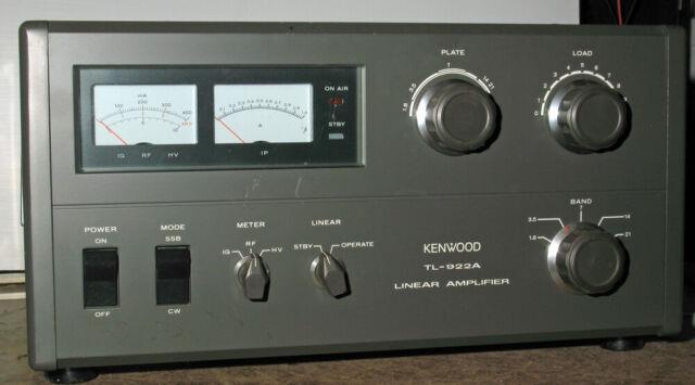 Kenwood Tl-922a Linear Amplifier. Sn 8090093 Amateur Ham
