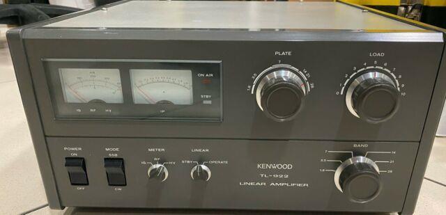 Kenwood Tl-922 Linear Amplifier Hf Perfect