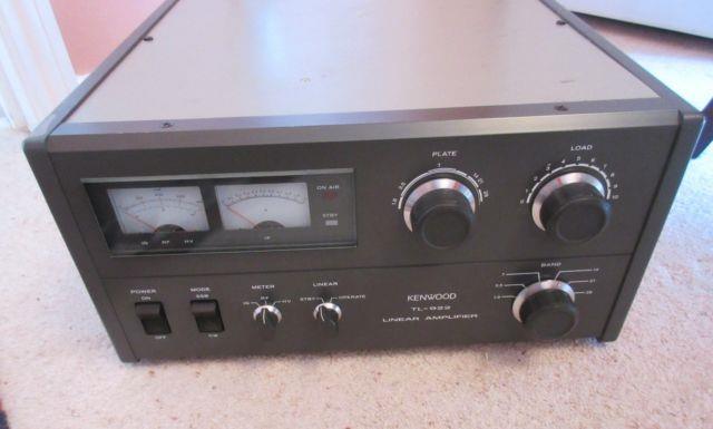 Kenwood Tl-922 2kw Input Hf Linear Amplifier Fully Working Recent New Tubes