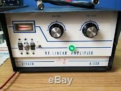 Kicker Rf Linear Amp K 500 Ham Radio