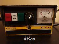 Killer Bee DX 250 HDV cb radio linear amplifier