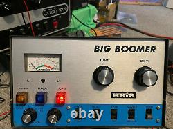 Kris Big Boomer Amplifier Rebuilt And Working Perfectly Classic