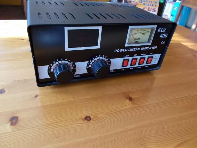 Kvl 400 Linear Amplifier- Mint Condition- Cb Radio- Ssb- Sideband Radio