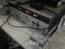 LNA 2m QRO 144 MHz built-in bypass relays N-female