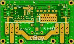 LNA 2m QRO EME, NF0.4dB, Gain 26dB, 144 MHz, Built-in bypass relays, N-female