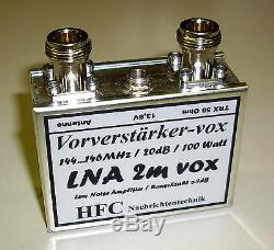 LNA-2m-VOX Vorverstärker 144 146 / Weißblechgehäuse (5015)