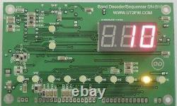 LPF 1.5kW 1.8-54 MHz w Switch Circuit Paired With DN-B10 Auto RF Band Decoder