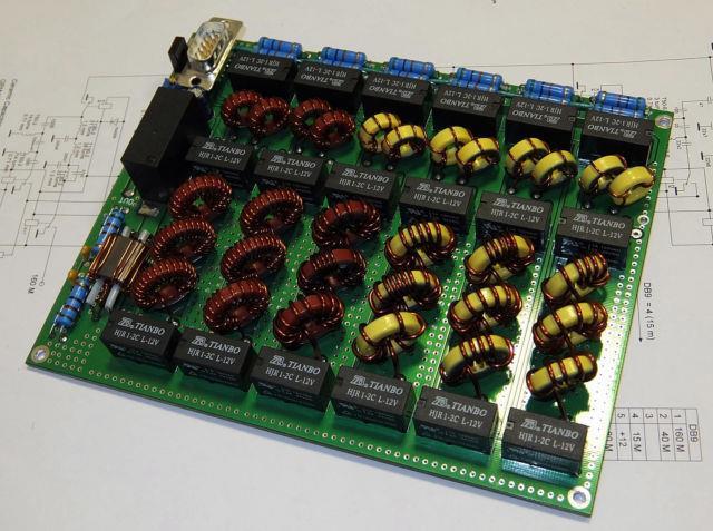 Lpf Diplexer 1.8-30mhz 300w Ssb/cw Hf Amplifier Low Pass Filter Mosfet Ldmos Rm
