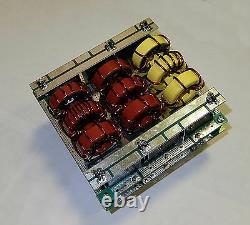 LPF low pass filter 2400W CW 1.8-54 MHz for LDMOS MOSFET amplifier BLF188XR BLF