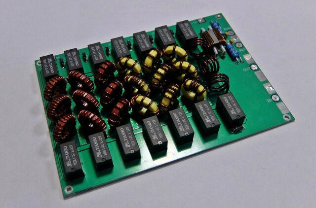 Lpf Low Pass Filter 300w Ldmos, Mosfet, Rm Italy And Tube Amplifier 1.8-54 Mhz