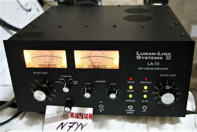 Lunar-link La-72 432 Mhz Rf Linear Power Amplifier And Power Supply + Guaranteed