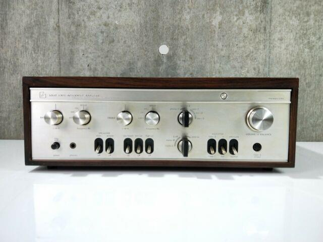 Luxman Sq507x Amplifier In Very Good Condition Vintage Released In 1971