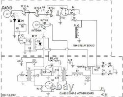 MESSENGER 10m LINEAR AMPLIFIER two Motorola MRF455 Transistors