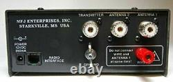 MFJ-929 200 Watt Compact Automatic Antenna Tuner, With SWR Meter 1.8-30 MHz