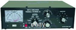 MFJ-948, Antenna Tuner, 300W, 1.8-30 MHz, Peak Reading Cross Meter