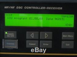 MF/HF DSC Controller-Receiver Skanti Typ DSC 9000 Hagenuk DCU DU Seefunk Funk