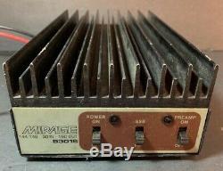 MIRAGE B3016 2 METER AMP 160w output. Working