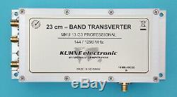 MKU 13 G3 Prof, 23cm Transverter 1296. 1298 MHz aluminium case