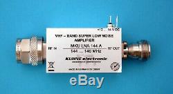 MKU LNA 144 A, Selective Low Noise Amplifier 144. 146 MHz
