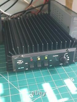 MOBILE LINEAR AMPLIFIER RM KL503 ALL MODE 20-30 MHz 6 WAY OUTPUT POWER CONTROL