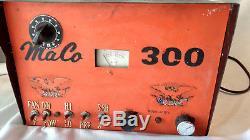 MaCo 300 Linear Ham Amateur Radio Tube Amp CB Base Station Pumpkin Face Orange