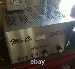 Maco 300 Amateur Linear Amplifier Refurbished. NEW TUBES AND MORE
