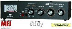 Mfj-941e Versa Tuner Ii, Hf, 300 Watts, With Mini Cross Meter