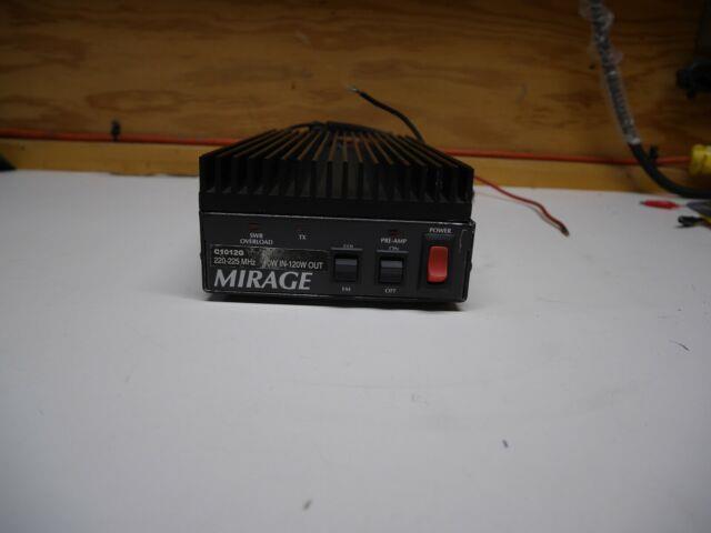 Mirage Model C 1012 G 220- 225 Mhz Amplifier 10w Input 120w Output