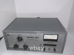 Monster Alpha 374 Bandpass Linear Amplifier manual & more As/Is