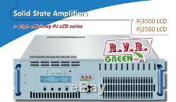 NEW RVR 3.5 kw FM Power amplifier PJ3500LCD