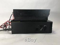 NEW TEXAS STAR DX-500v 2879 Pills CW AMPLIFIER Amp With NEW 60 Amp Power Supply