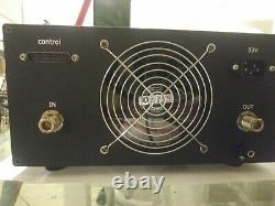 New, Solid State Power Amplifier for 430-450 Mhz 400W