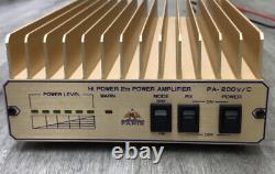 New Toptek amplifier 200W VHF