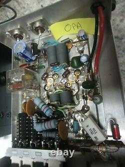 OUTCOM 7-30 MHz WIDEBAND AMPLIFIER WORKS FINE. LOOK, READ