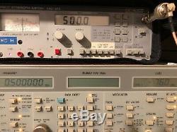 PROMAX RF Field Strength Meter FM VHF UHF Monitoring Receiver MC-312 Amateur HAM