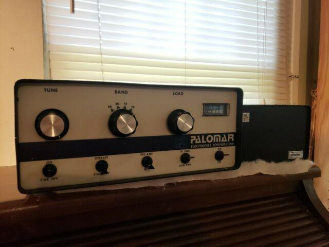 Palomar 300a Linear Amplifier & Power Supply Working! All 6kd6 Tubes
