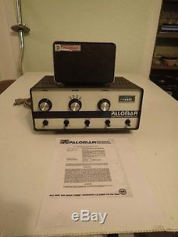 Palomar 300A Tube Linear Amplifier with Power Supply
