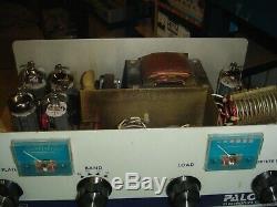 Palomar 350z Linear Base Amp / Ssb Built / 700watts / Multiband / 2 X 6 6kd6