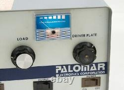 Palomar 350z Tube Linear Amp High And Low Drive TURNS ON TUBE LIGHT PARTS/REPAIR