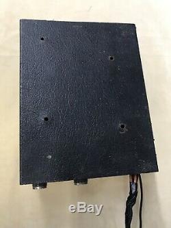 Palomar TX75 3-30Mhz Vintage Solid State Bi Linear CB HAM Amplifier Powers On