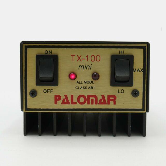 Palomar Tx-100 Mini Tri-power Ham Mobile Linear Amplifier 150 Watt Pep, New