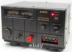 Power Supply Alinco Dm-340mw 35amp 9-15v For Cb/ham Radio/antenna