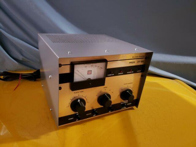 Pride Dx300 Am/ssb Base Amp / Steel Tube / Multiband / Mint Powder Coated Can
