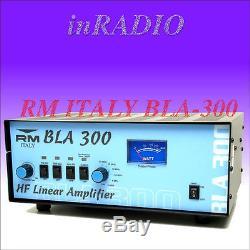 RM ITALY BLA-300 1.5-30 MHz 300W HF Transistor Endstufe Power Amplifier BLA300