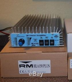 RM Italy HLA 150v RF power Amplifier 1.8 to 30 Mhz