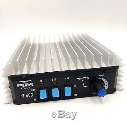 RM Italy KL-400 CB Linear Amplifier 27MHz 10 Meter 200W AM/FM 400W SSB