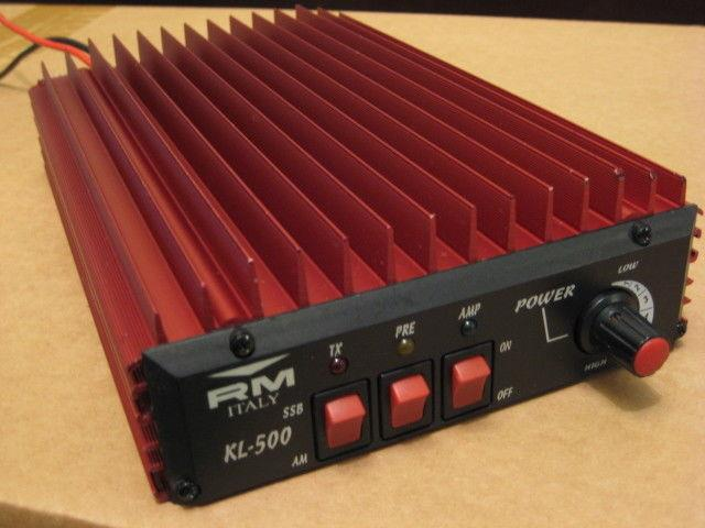 Rm Kl 500 Power Amplifiers