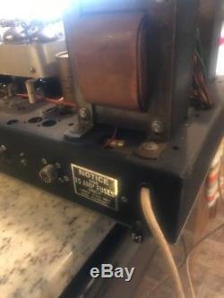 Rare Elkin 8 tube linear hf modulator ham amplifier