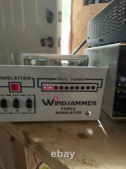 Rare Windjammer Power Modulator linear amplifier Original! Works! Nice Look